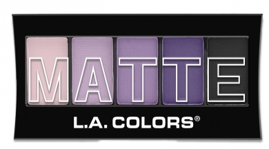 Matte Eyeshadow LA Colors CEM473