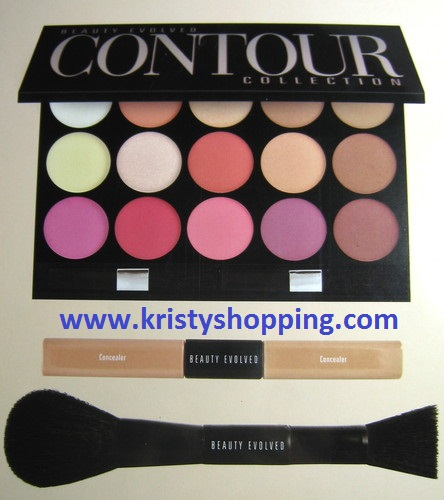 The Perfect Face Pro Series 21pc Conceal & Contour Collection