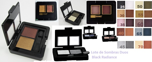 Lots 6 Unts Black Radiance Dynamic Duo
