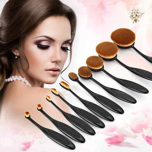 Brush Makeup 10 Kit