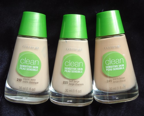 Sensitive Clean Skin Covergirl 245