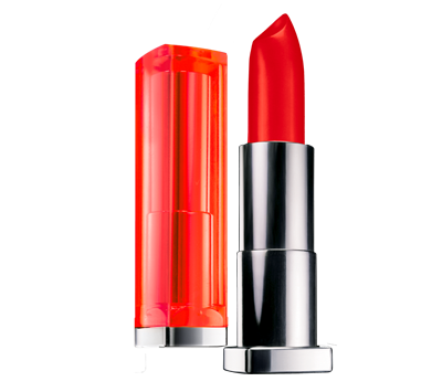 Labial Vivids Neon Red Maybelline 890